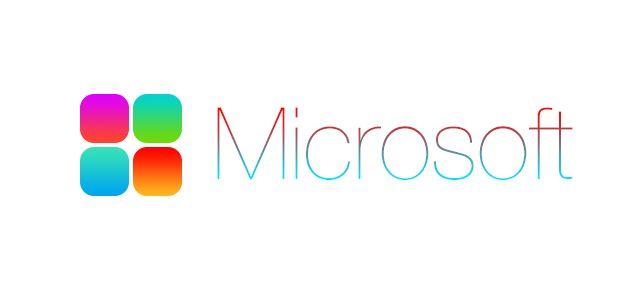 John Ive Version Of The New Microsoft Logo Design