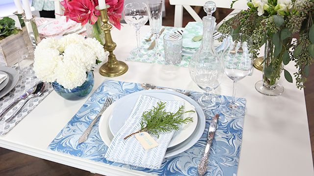 Dinner Party Place Settings #Décor #Design #SarahRichardson