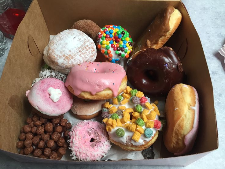 Trip to Oregon @Voodoo donuts! About 3 hour drive there and back from WA