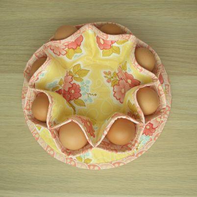 Make a Pretty Easter Egg Nest
