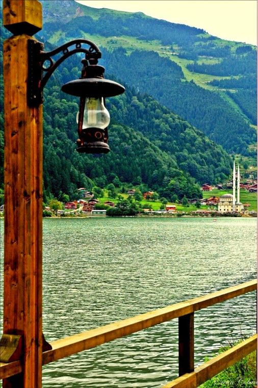 Uzungöl (the long lake) in Trabzon, Turkey.
