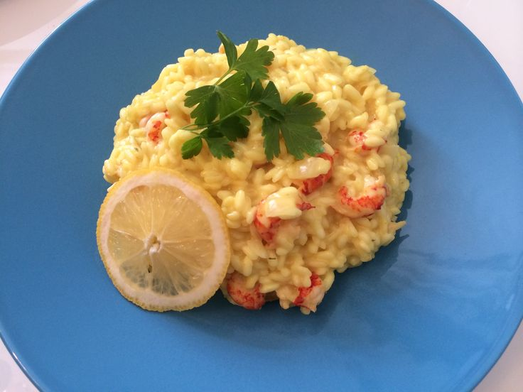 Crayfish and lemon risotto