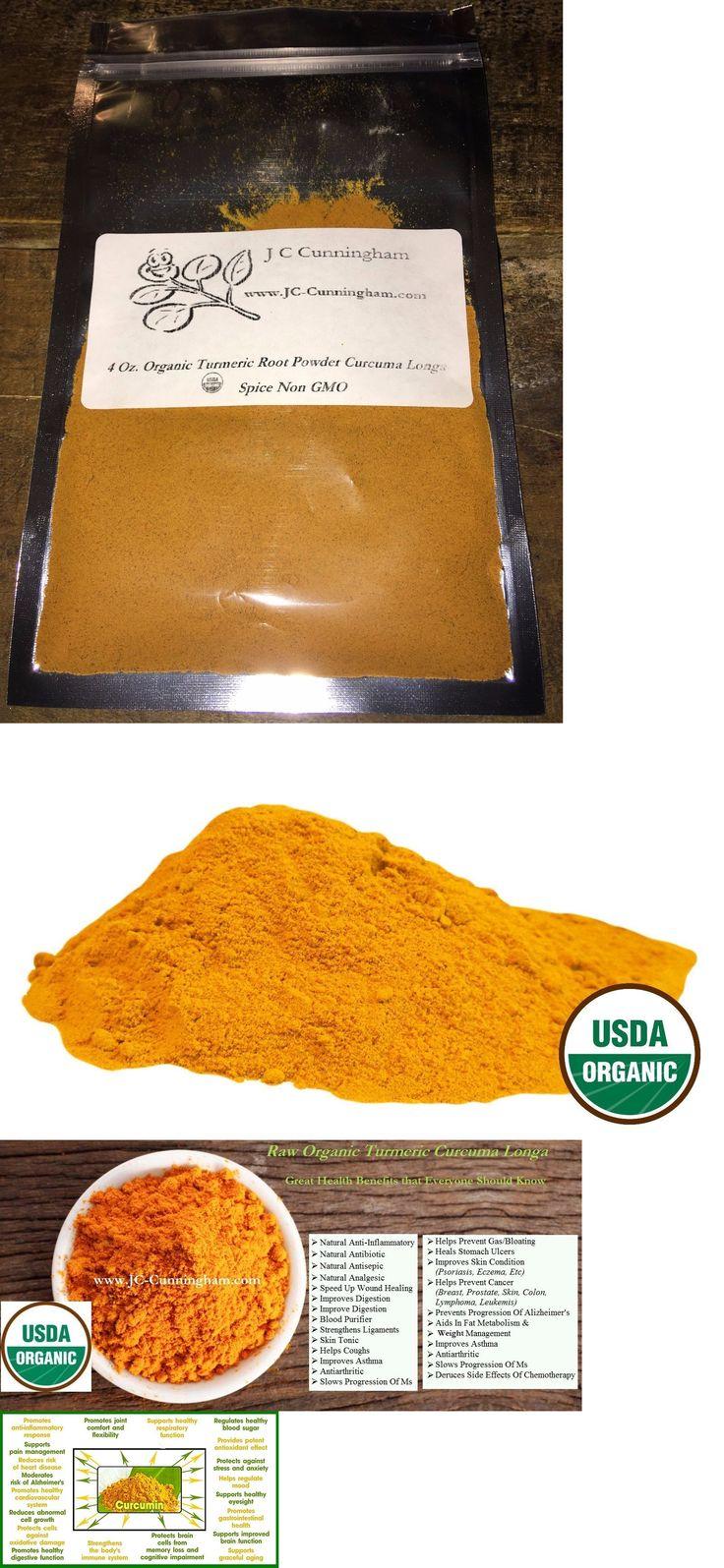 Herbs and Botanicals: Organic Herbs Turmeric Root Curcuma Longa Extract Powder Curcumin 95% Non Gmo -> BUY IT NOW ONLY: $39.17 on eBay!