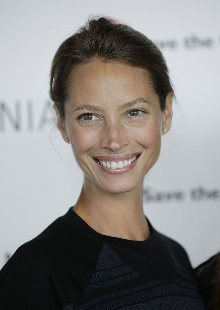 inspiring to see people who don't mask their face with globs of contouring - Christy Turlington