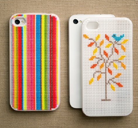 stitching phone cases