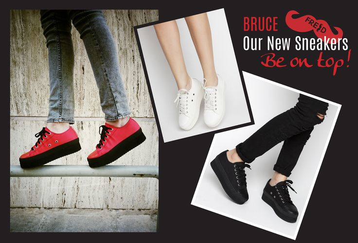 S/S 2015 Sneakers #keepfred #fred #sneakers #shoes #outfit #style #fashion #blog #collection #spring #red #white #black