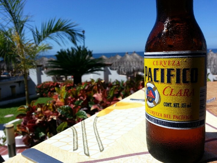 Tropicana Hotel bar view.