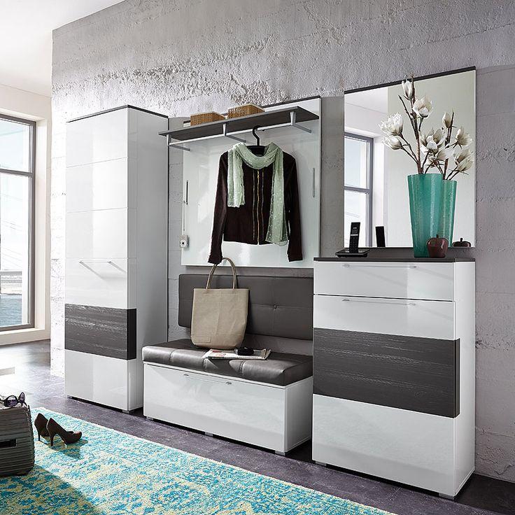 e-combuy Angebote Garderoben Set 5 tlg. REPALO258 weiß Hochglanz, Absetzung grau: Category: Garderoben-Sets Item number:…%#Quickberater%