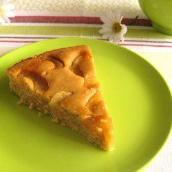 Κέικ με αχλάδι και μέλι