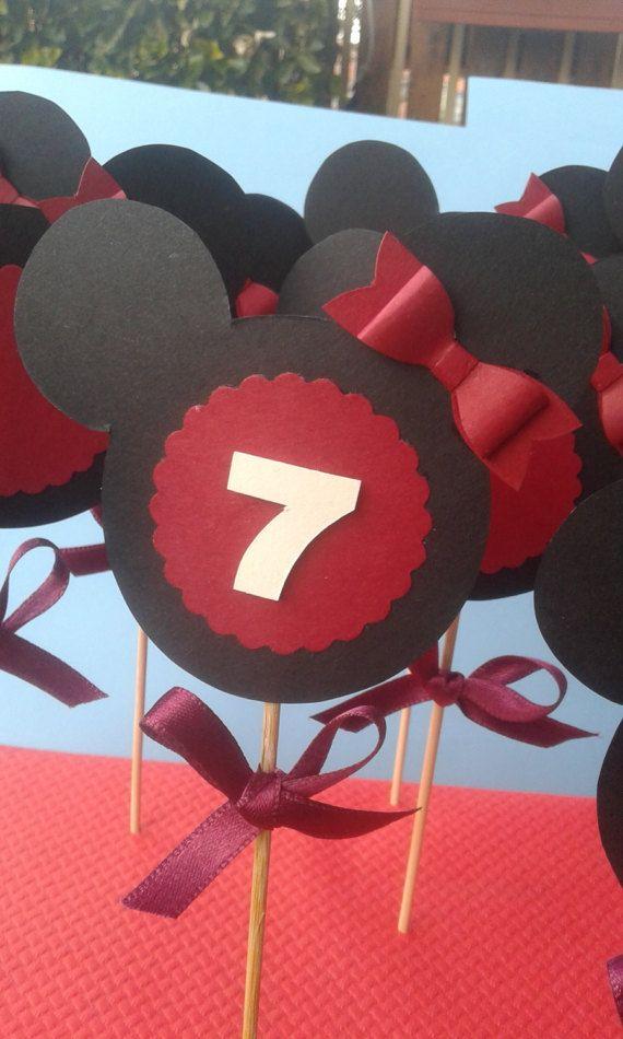 Topper/Minnie/Disney/compleanno/decorazioni/decorazioni festa