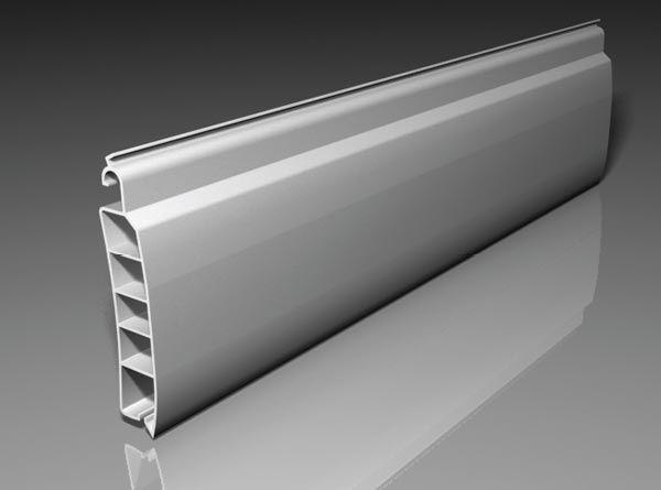 Lámina PVC con cámaras de aire. Color blanco