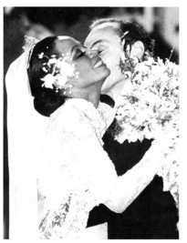 Diana Ross' decadent 1986 wedding to  Arne Naess Jr. in the Jura Mountains,` Switzerland.
