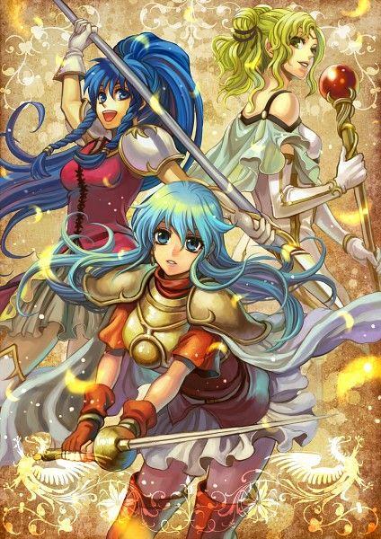 Fire Emblem: Seima no Kouseki - Eirika, L'arachel, Tana