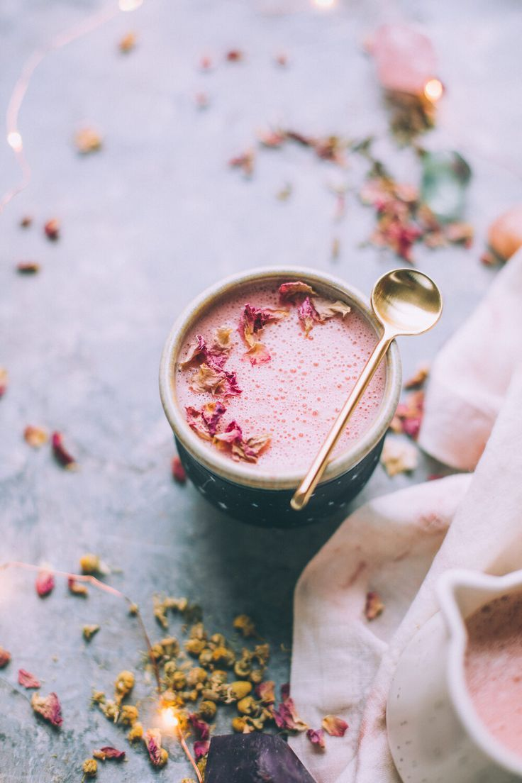 Pink Moon Milk Recipe Will Frolic For Food In 2020 Moon Milk Recipe Milk Recipes Oat Milk Recipe