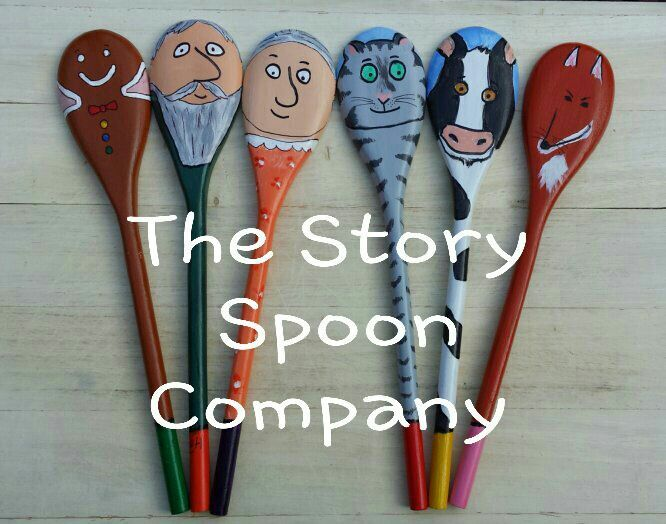 Story Spoons Puppets - The Gingerbread Man Story Spoons