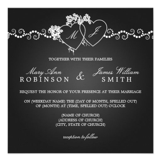 The 30 best ♥ HEART Theme Wedding Invitations ♥ images on