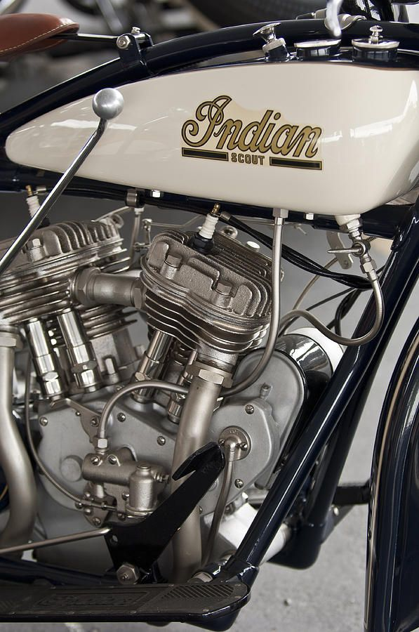 indian motorcycle prints | ... Indian 101 Scout 45 Ci Motorcycle Fine Art Prints and Posters for Sale