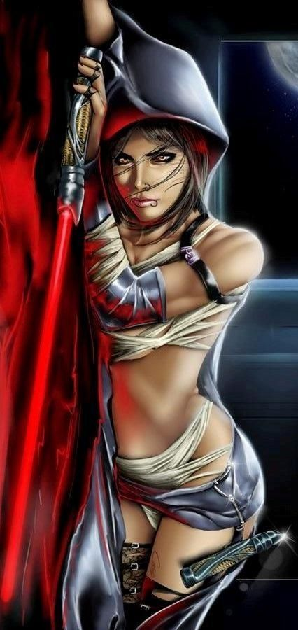wars sith Star nude female