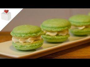 Cómo hacer Macarons Franceses paso a paso | Recetas de repostería por Azúcar con Amor