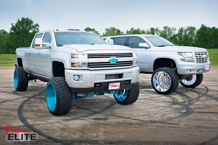 The suv is ugly as hell but the truck..