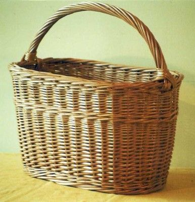 Tradional wicker basket - made in UK