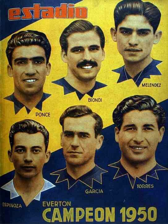 Everton of Chile in 1950.