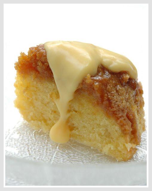 how to make treacle sponge cake