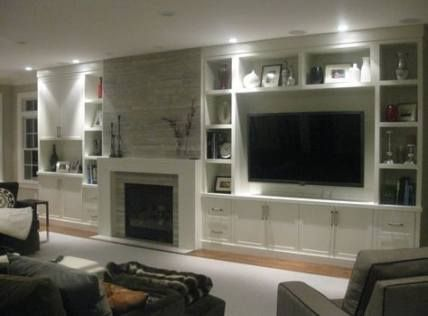 30+ ideas wall decored above couch built ins for 2…