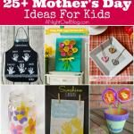 25+ Mother's Day Crafts For Kids
