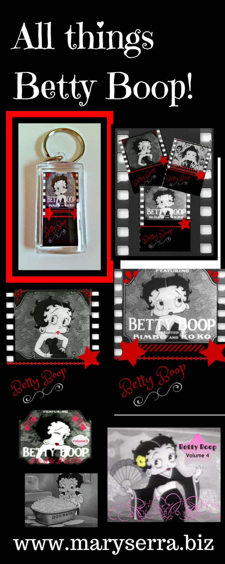 BETTY BOOP CARTOON. This is my original designs please stop by to check them out!  #Betty Boop #Betty Boop Cartoons #Betty Boop DVD