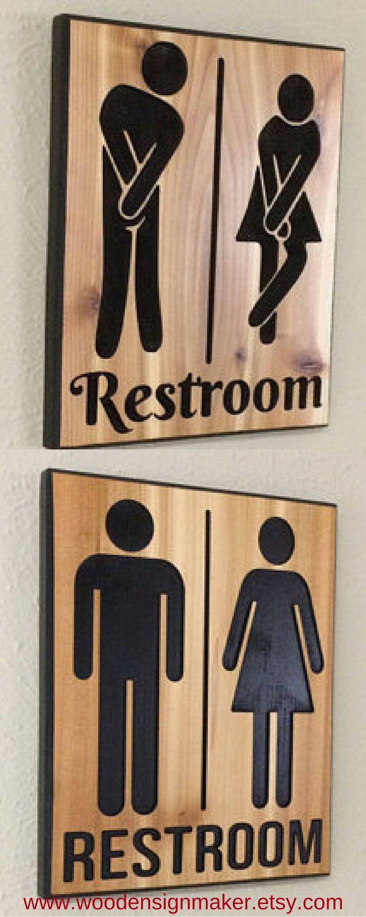 restroom sign restroom signs funny restroom signs funny signs carved wooden signs wood sign