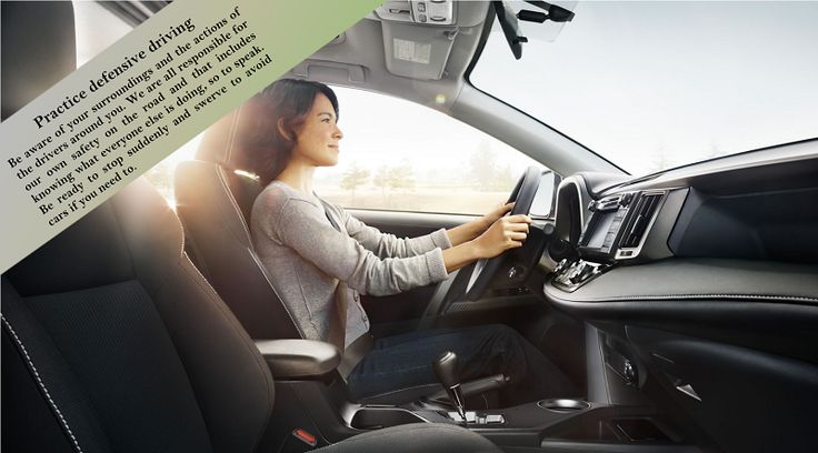"""Always do defensive driving Your most important responsibility is not to harm yourself or anyone else while you drive the """"big moving automobile"""" down the road. Accidents happen fast and are not a do-over. #wintertyres"""