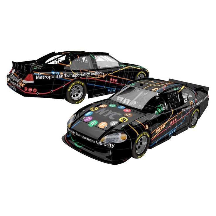 Lionel Racing Metropolitan Transportation Authority Black Map 1:24 Die-cast Car