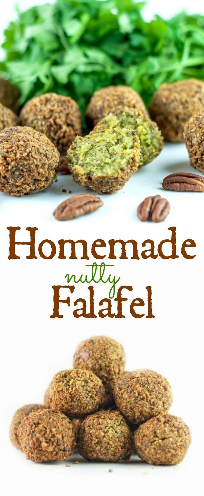 Homemade Nutty Falafel