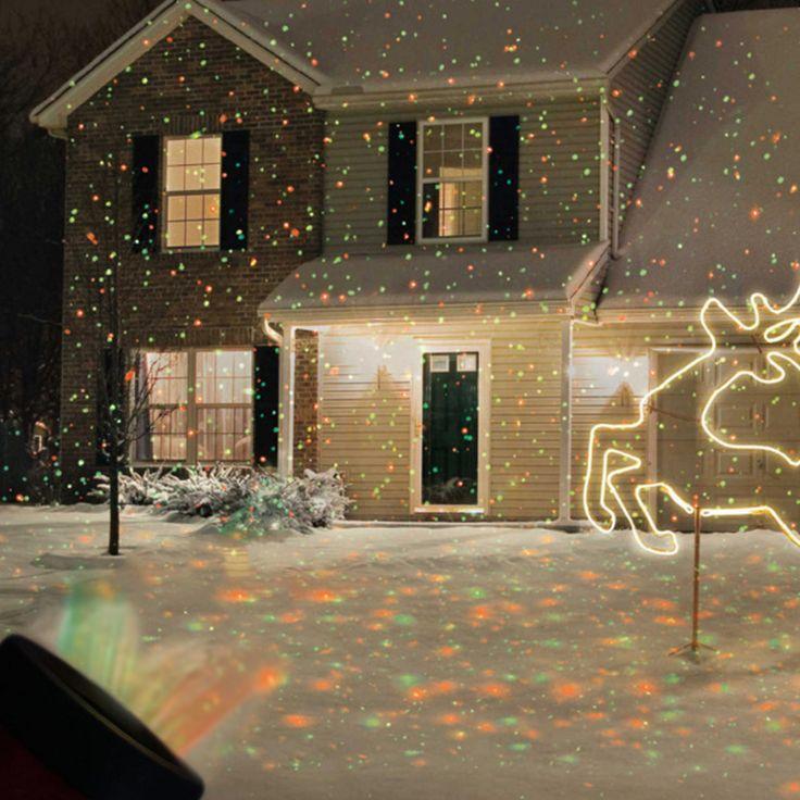 Рождественские Огни Открытый Свет Лужайки Небо Звезды Лазерного Прожектор Свет Душ Ландшафтный Парк Сад Света Рождество Garden Party Декабря купить на AliExpress