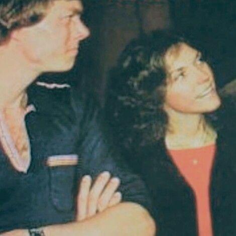 Candid shot of Richard and Karen Carpenter.