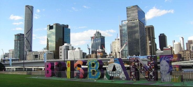 Brisbane Sehenswürdigkeiten - schöne Fotos aus der Innenstadt