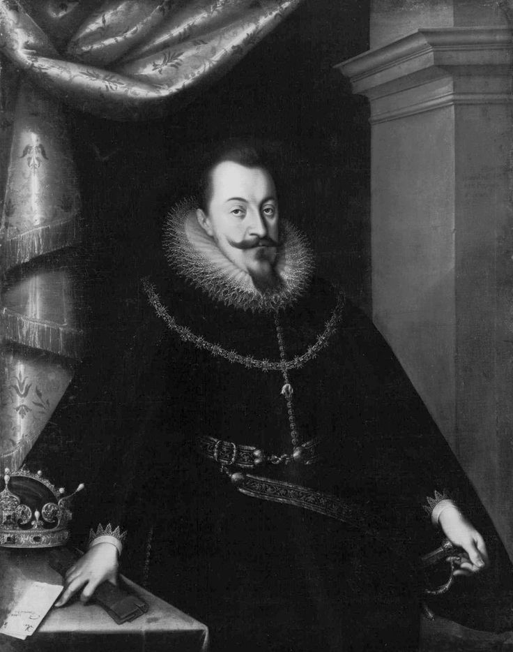 Portrait of Sigismund III Vasa by Joseph Heintz, ca. 1605 (PD-art/old), Bayerischen Staatsgemäldesammlungen. King's haberdasher and embroiderer was Jan Brykiet, presumably a Frenchman (Jean Briquette?), who adorned thrones for the coronation of Anne of Austria. He was replaced by Paweł Kuncz, a Frenchman Abraham (Abram) Lanse, between 1596 and 1601 and by Olorfi Tycz.