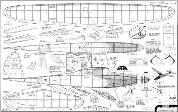 balsa wood rc plane plans
