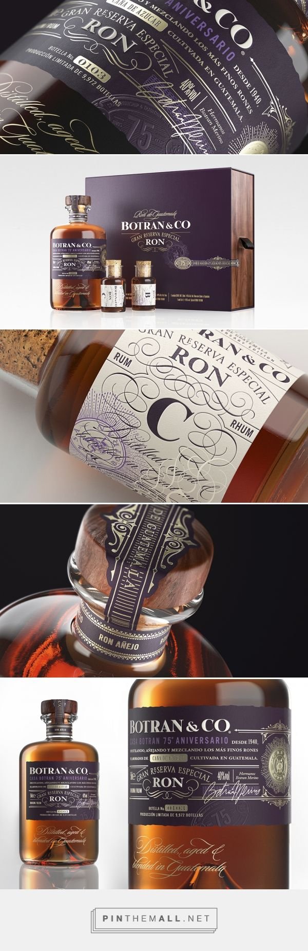 Botran & Co — The Dieline - Branding & Packaging - created via http://pinthemall.net