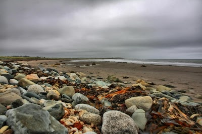 A dramatic shot of Conrad's Beach on our Eastern Shore.