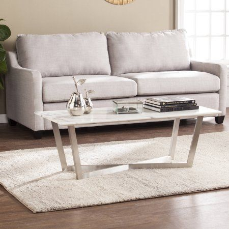 Southern Enterprises Whismur Faux Marble Coffee Table, Soft Ivory with  Gray, Beige - 25+ Best Ideas About Faux Marble Coffee Table On Pinterest Ikea
