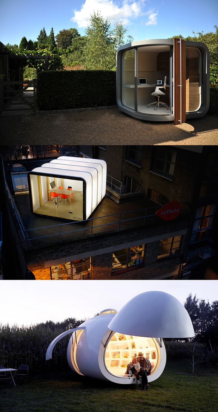 22 best Tiny offices images on Pinterest Architecture Backyard