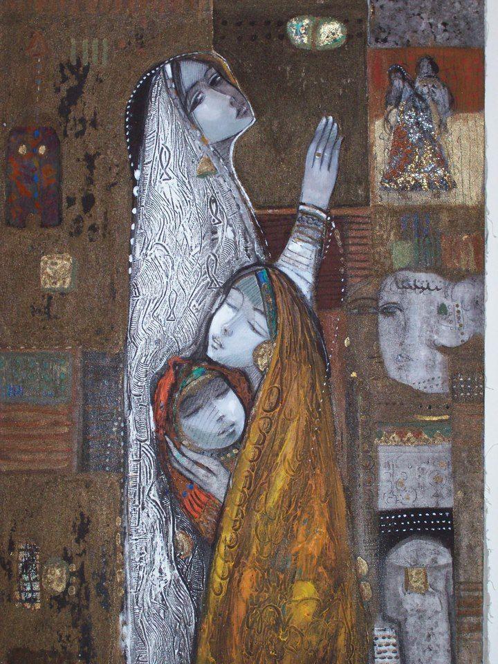 : الفنان التشكيلي زهير حسيب - Zuhair hassib Syrian artist