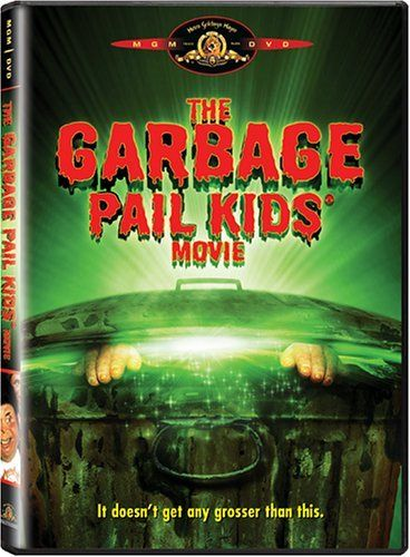 THE GARBAGE PAIL KIDS MOVIE: Directed by Rod Amateau.  With Anthony Newley, Mackenzie Astin, Phil Fondacaro, Katie Barberi. Seven disgusting kids but nevertheless of interesting personality are being made of the green mud coming out of garbage can. Once alive their master gives them rules to obey although they think that life is funnier without following stupid regulations like no television or no candy. Naturally this will cause some conflicts.