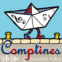 Wonderful coloring pages for French comptines