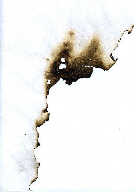 Burned Paper. Flickr