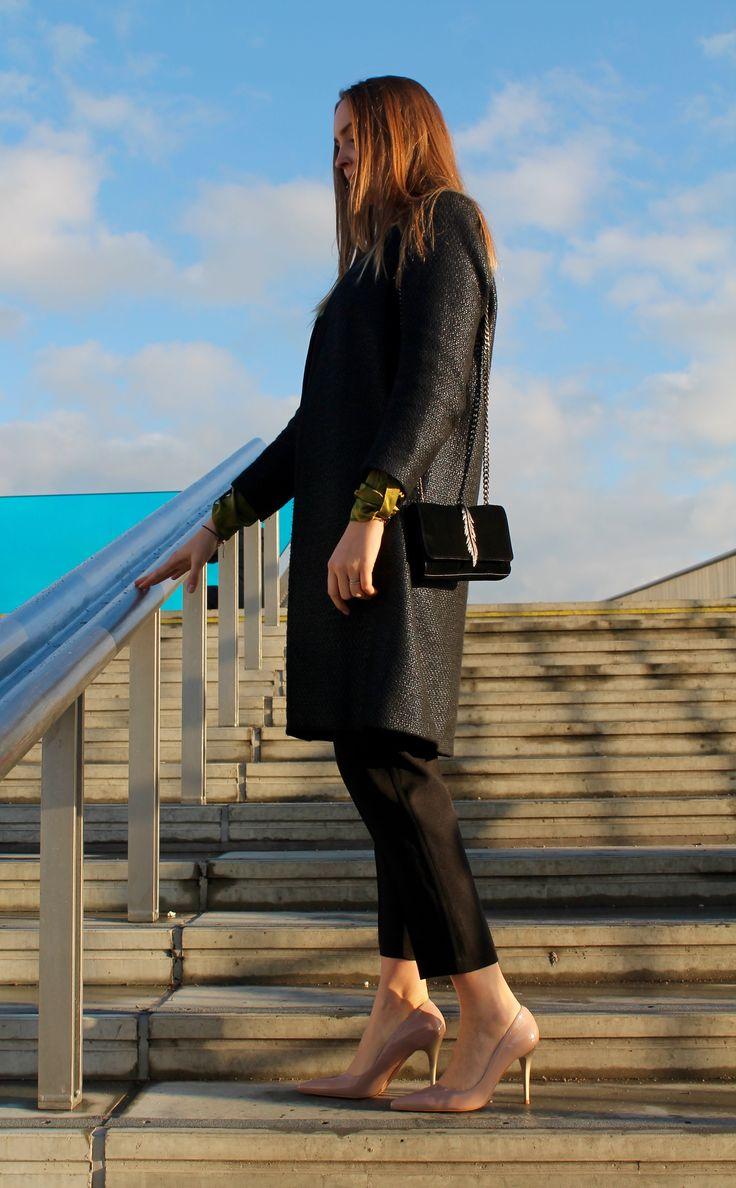 Yolanda pants in Black // AW16 // La Femme Allure // Sandra tunic in Olive // FW16 // Eclipse // Dea Kudibal