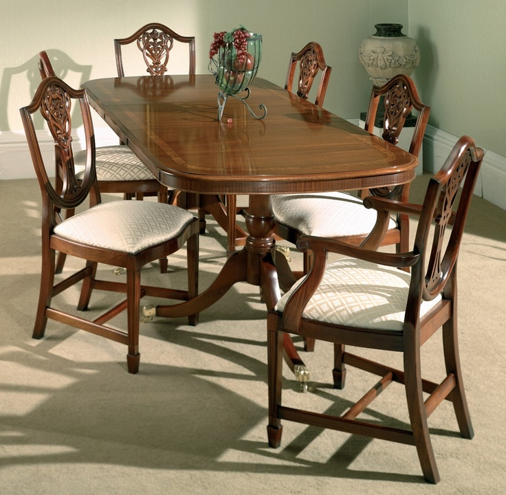 Best ideas about mahogany dining table on pinterest