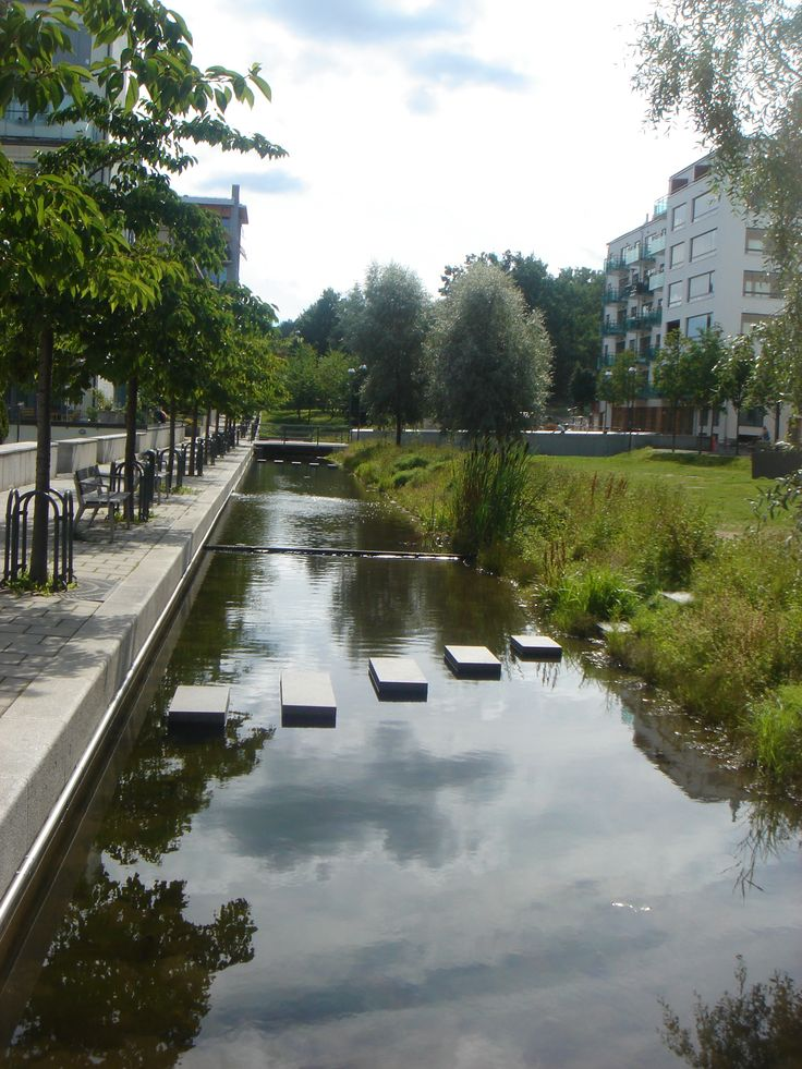 Eco-district, Hammarby Sjöstad, Stockholm, Sweden